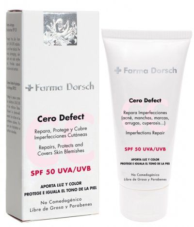 crema cero defect de farma dorsch