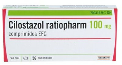 ya disponible en farmacias cilostazol ratiopharm efg