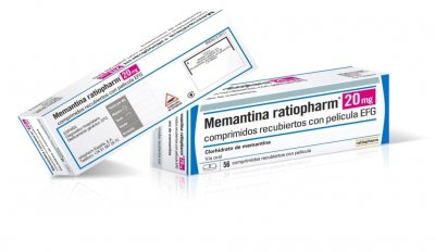 ya disponible memantina ratiopharm efg en dos formatos