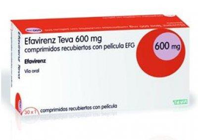 efavirenz de teva para el tratamiento del hiv