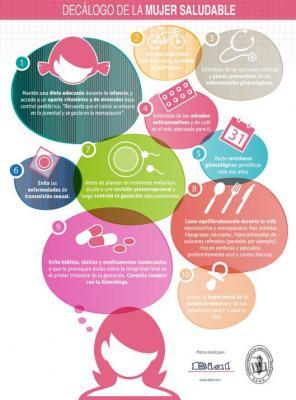 elaboran un declogo sobre salud ginecolgica en las tres etapas representativas de la mujer