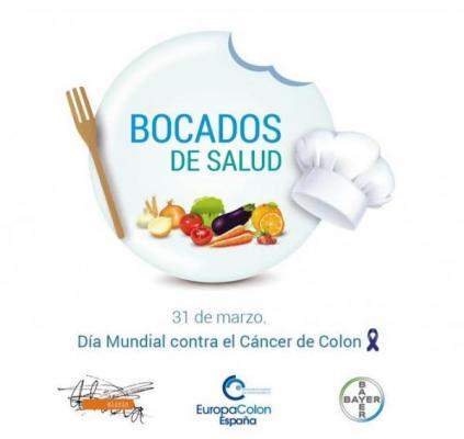 elaboran un recetario saludable con motivo del dia mundial contra el cancer de colon