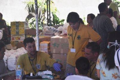 la emergencia en filipinas y la crisis interna en siria principales actuaciones del fahe en 2013