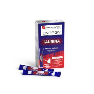 energiacutea siempre a punto con el nuevo energy taurina en sticks bucodispersables de forteacute pharma