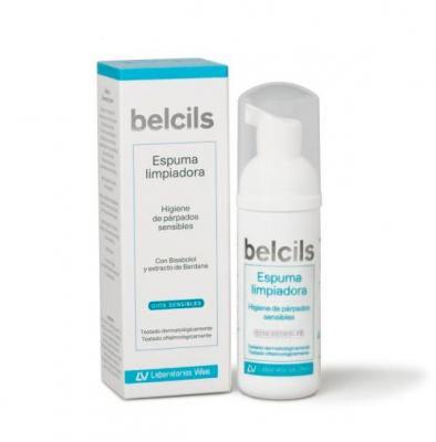 espuma limpiadora belcils suave y efectiva para la limpieza diaria del paacuterpado sensible