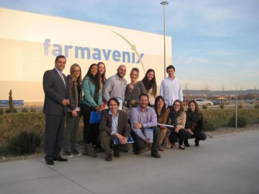 estudiantes de la upc visitan farmavenix