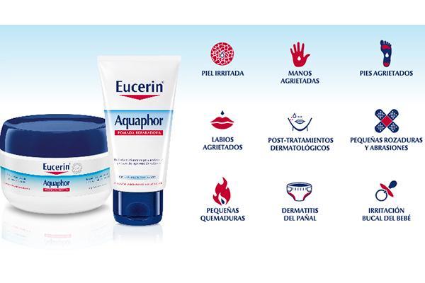 eucerin aquaphor la solucioacuten multiusos maacutes eficaz frente a la piel dantildeada