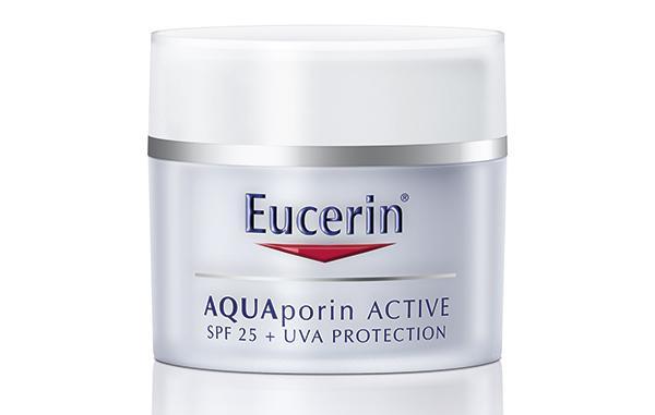 eucerin aquaporin el cuidado facial adaptado a las altas temperaturas