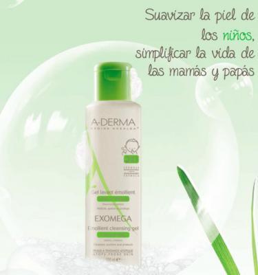 exomega gel limpiador 2 en 1 lo nuevo de aderma para cuidar la piel y el cabello de los pequentildeos atoacutepicos