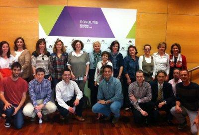farmaceuticos aragoneses y vascos participan en el i curso novaltia de gestion de la oficina de farmacia