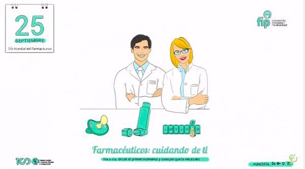 quotfarmaceacuteuticos cuidando de tiquot el lema de la profesioacuten farmaceacuteutica para conmemorar su diacutea mundial