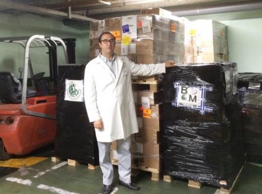 la farmacia espantildeola sigue mostrando su solidaridad con la poblacioacuten infantil y los refugiados sirios