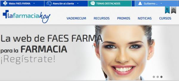 la farmacia hoy la nueva plataforma online orientada para la oficina de farmacia de faes farma