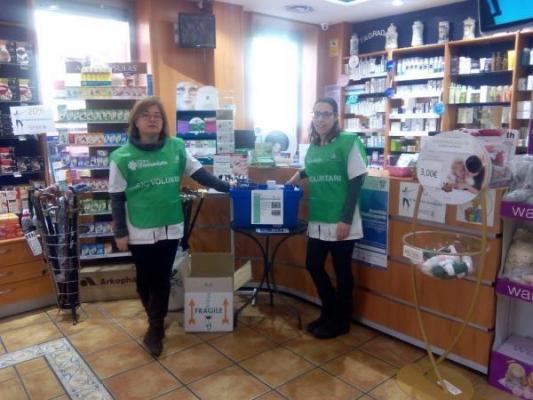 las farmacias de fedefarma se implican en la campantildea de recogida de medicamentos de banco farmaceacuteutico