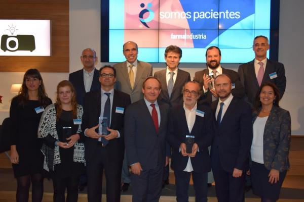 farmaindustria y los premios somos pacientes reconocen las mejores iniciativas de asociaciones espantildeolas