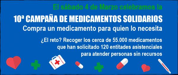 fedefarmanbspanima a todas sus farmacias socias a colaborar con lanbspx campantildea de medicamentos solidarios