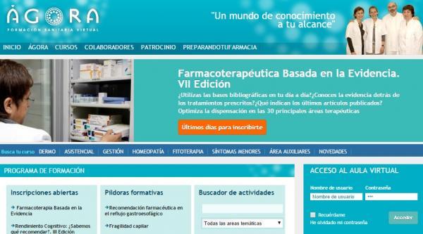 la-formacion-al-farmaceutico-pilar-fundamental-del-proximo-curso-de-agora-sanitaria