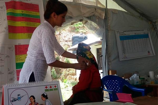 fsfe concluye su trabajo en nepal con el apoyo de cecofarbidafarma