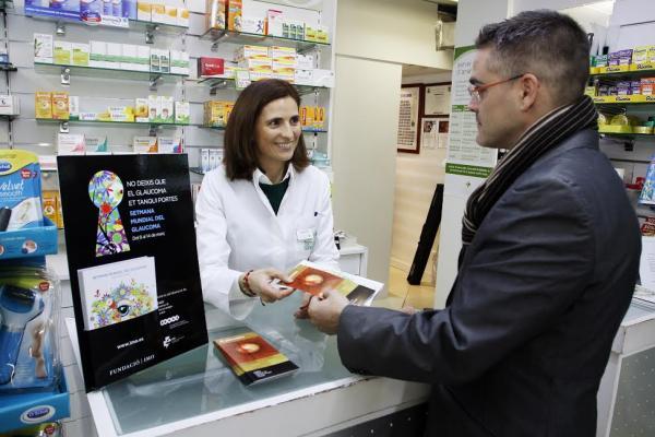 la fundacion imo se alia con opticos y farmaceuticos para concienciar sobre el glaucoma