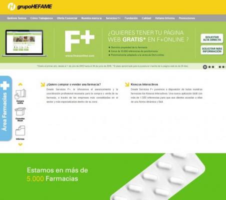 hefame facilita a todas sus farmacias la incorporacioacuten a la venta online de manera raacutepida y gratuita