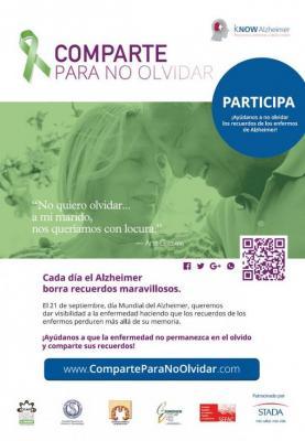 impulsan una campantildea que anima a compartir recuerdos reales de enfermos de alzheimer en las redes sociales