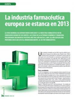 la-industria-farmaceutica-europea-se-estanca-en-2013