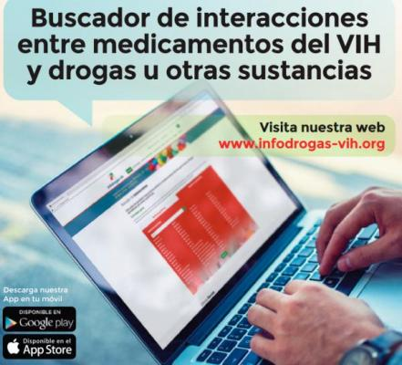 infodrogasvih el buscador que detecta las interacciones entre faacutermacos del vih y drogas recreativas u otras sustancias