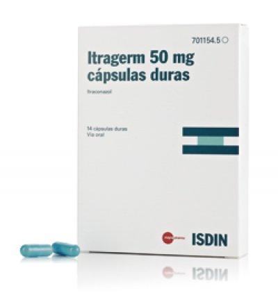 isdin lanza itragerm 50 mg el primer itraconazol low dose con biodisponibilidad mejorada