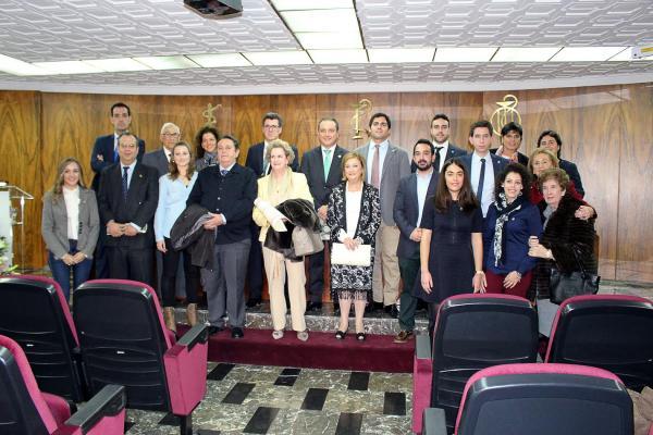 los cof de jaeacuten y asturias celebran la festividad de su patrona