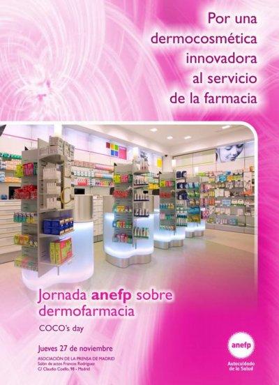 jornada de anefp sobre la dermocosmetica al servicio de la farmacia