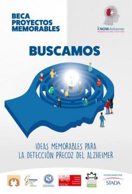 know alzheimer convoca la beca proyectos memorables para la deteccioacuten precoz del alzheimer