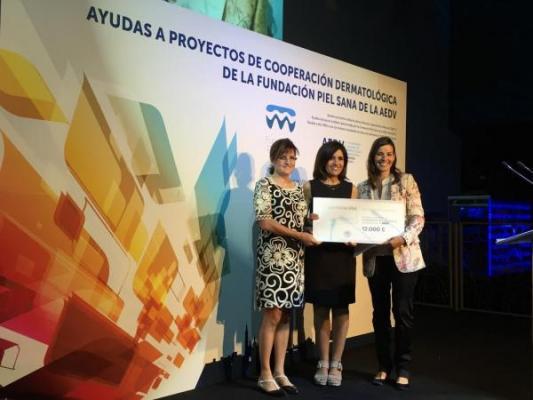 laboratorios vintildeas repite como patrocinador de los premios de la fundacioacuten piel sana