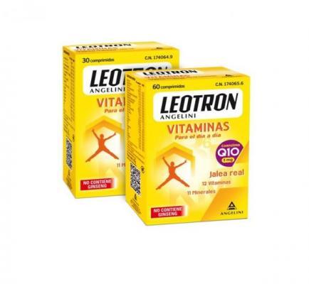 leotron vitaminas la nueva foacutermula con coenzima q10 de angelini combatir el cansancio