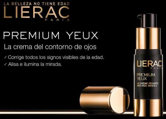 lierac lanza premium yeux la crema del contorno de ojos que ofrece un tratamiento antiedad absoluto