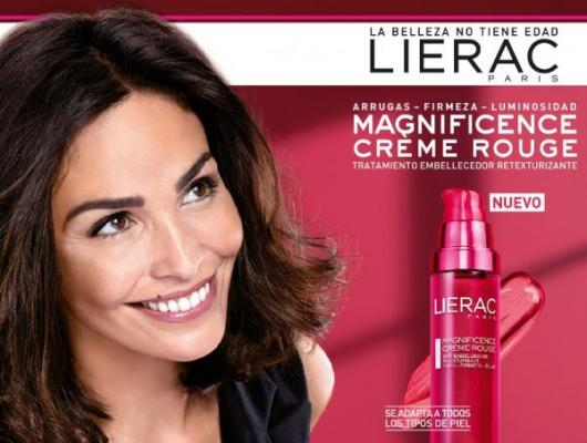 lierac presenta la novedosa crema magnificience creme rouge
