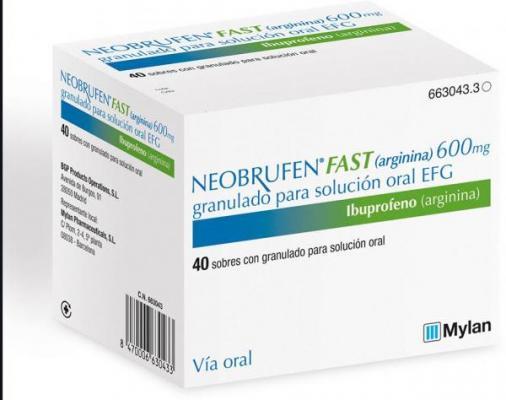 llega a espantildea neobrufen fast ibuprofeno arginina de mylan