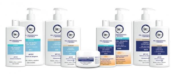 llega la nueva gama de tratamientos corporales de be cinfa para las pieles deshidratadas y secas
