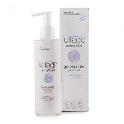 llega el nuevo gel limpiador purificante de lullage para pieles grasas o con tendencia acneica