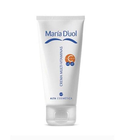 luminosidad y firmeza para la piel con la crema multivitaminas de maria d