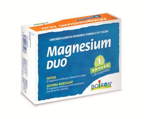magnesium duo de boiron el complemento alimenticio de foacutermula uacutenica para acompantildear en situaciones de fatiga