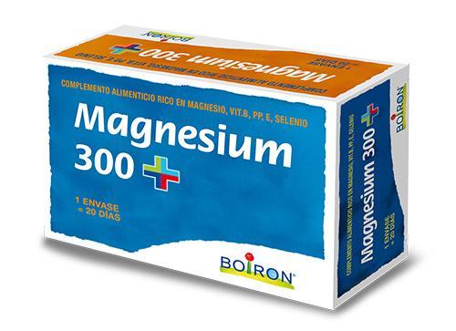 magnesium 300 el nuevo complemento alimenticio de boiron que reduce el cansancio y la fatiga