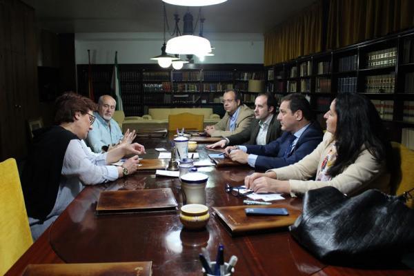 en marcha la ronda de reuniones del cof de jaeacuten con distintas asociaciones de pacientes