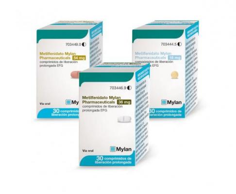 Mylan lanza Metilfenidato para el TDAH
