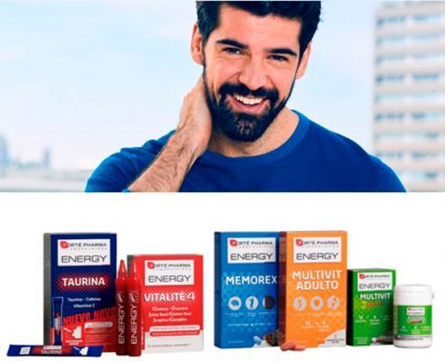 miguel aacutengel muntildeoz embajador de la liacutenea de vitaminas energy de forteacute pharma