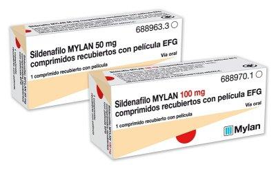 mylan lanza sus nuevas presentaciones en la gama de disfuncion erectil