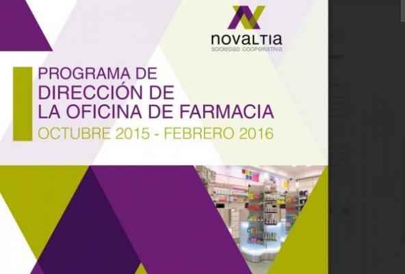 novaltia organiza el i programa de direccioacuten de la oficina de farmacia