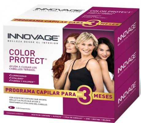 dos novedosos productos de innovage para el cuidado del cabello teido y de la piel