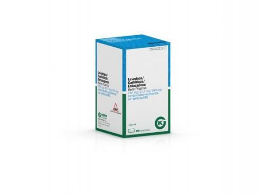 nueva presentacioacuten de levodopa  carbidopa  entacapona para el vademeacutecum de kern pharma en parkinson