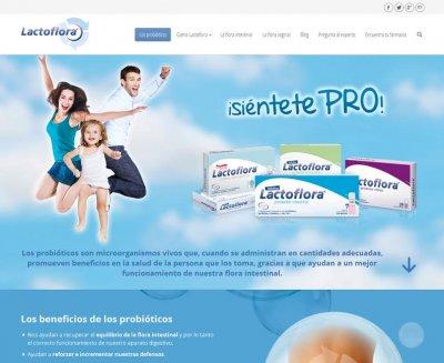 nueva web de referencia de lactoflora sobre los probioticos