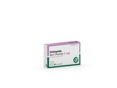 nuevo generico de kern pharma cinitaprida 1 mg comprimidos efg